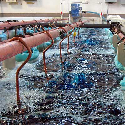Woda demineralizowana używana w procesie galwanizacji