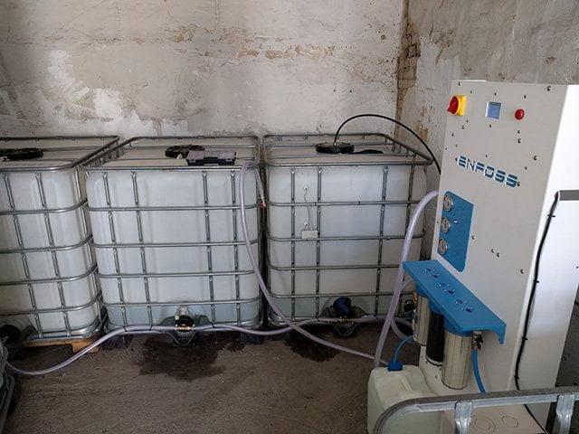 Produkcja wody demineralizowanej do roztworów glikolowych