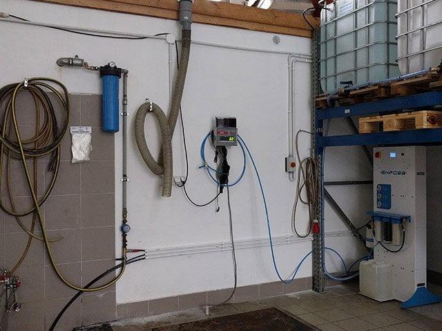 Stacja uzdatniania wody na potrzeby produkcji chemii gospodarczej
