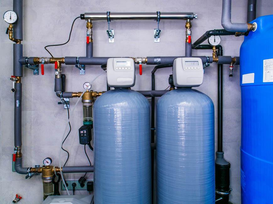 stacja zmiękczania wody