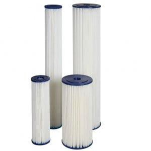 Filtry do wody przemysłowe mechaniczne harmonijkowe wielokrotnego użytku