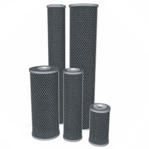 Blok węglowy silver przemysłowy filtr do wody