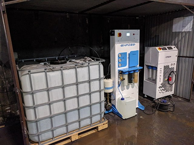 Rozbudowa stacji uzdatniania wody na potrzeby odpylania przesypów